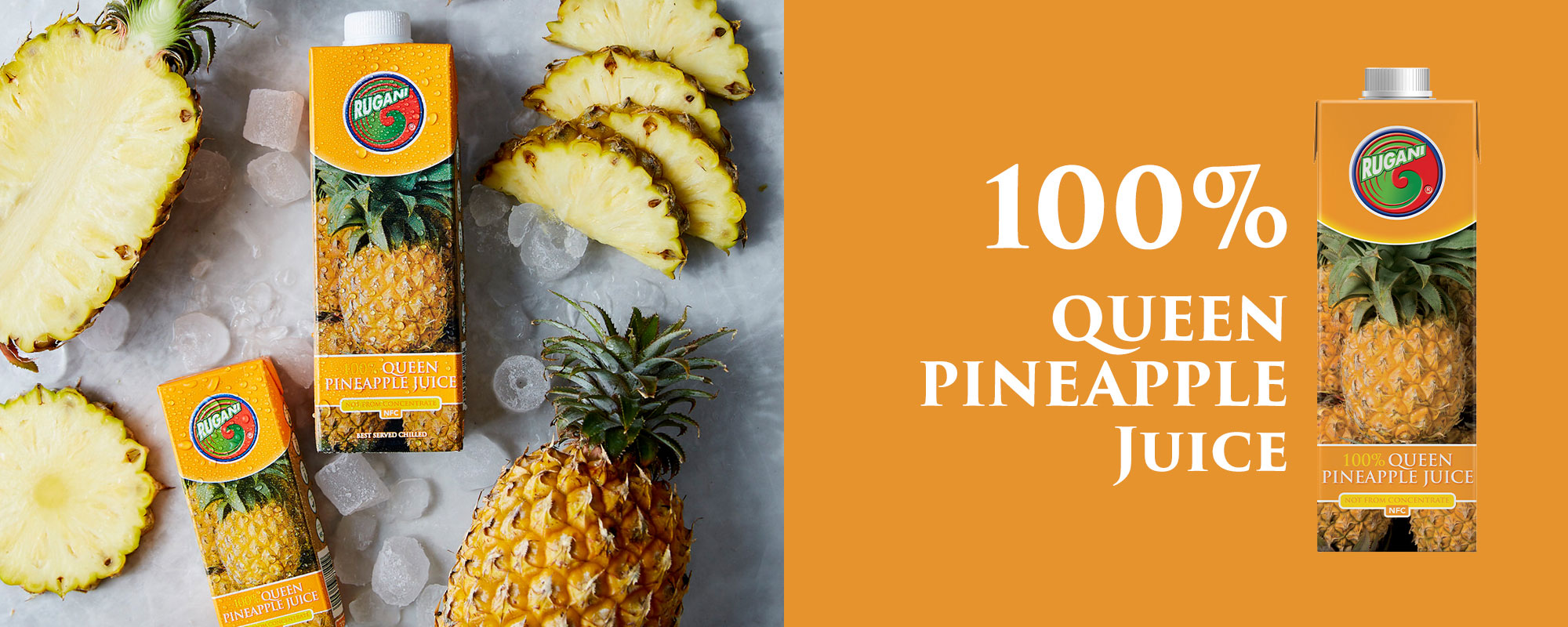 100% Queen pineapple juice
