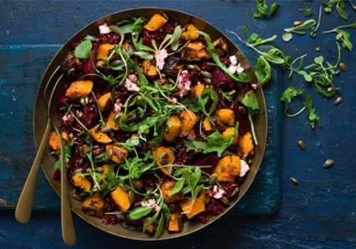 Rugani Beetroot Quinoa Salad